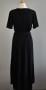 Stajl glittrig svart klänning