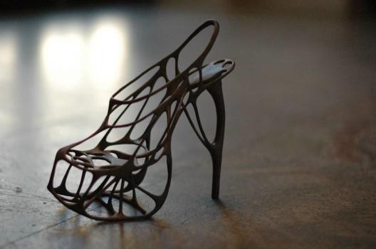 Artisten Lady Gagas häftigaste skor är tillverkade med hjälp av 3D-printing (3DP) Foto: Anna Thorell