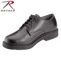 Uniform Oxford Leather Shoes