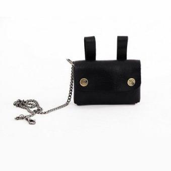Nyckelväska i läder