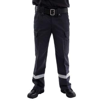 Väktare Guard Byxa Grå med reflex, Safetysec