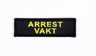 Robust Arrestvakt Emblem, broderat