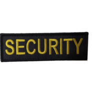 Security Emblem broderat, Robust