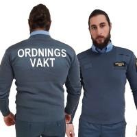 OV Natotröja med ryggtryck, Safetysec