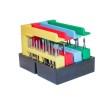 Disk- och lådställ för 4-8 BORRIX Original - VITT Diskställ för 4 BORRIX original