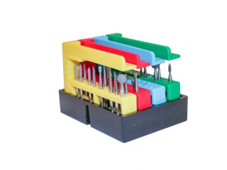 Disk- och lådställ för 4-8 BORRIX Original - SVART Diskställ för 4 BORRIX original