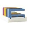 Disk- och lådställ för 4-8 BORRIX Original - VITT Diskställ för 8 BORRIX original