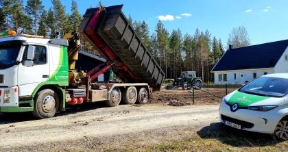transport av jord