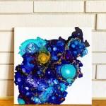 Blue Galactic Storm