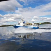 MSFreja_Taxiboat_in_StockholmIn_action