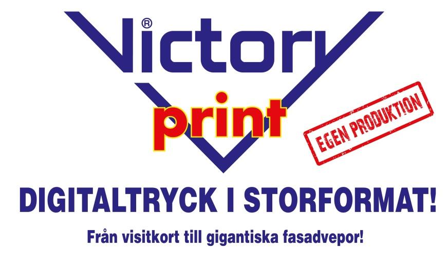 digitaltryck storformat Victoryprint Haninge Tryckeri