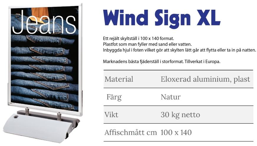 gatupratare wind sign XL
