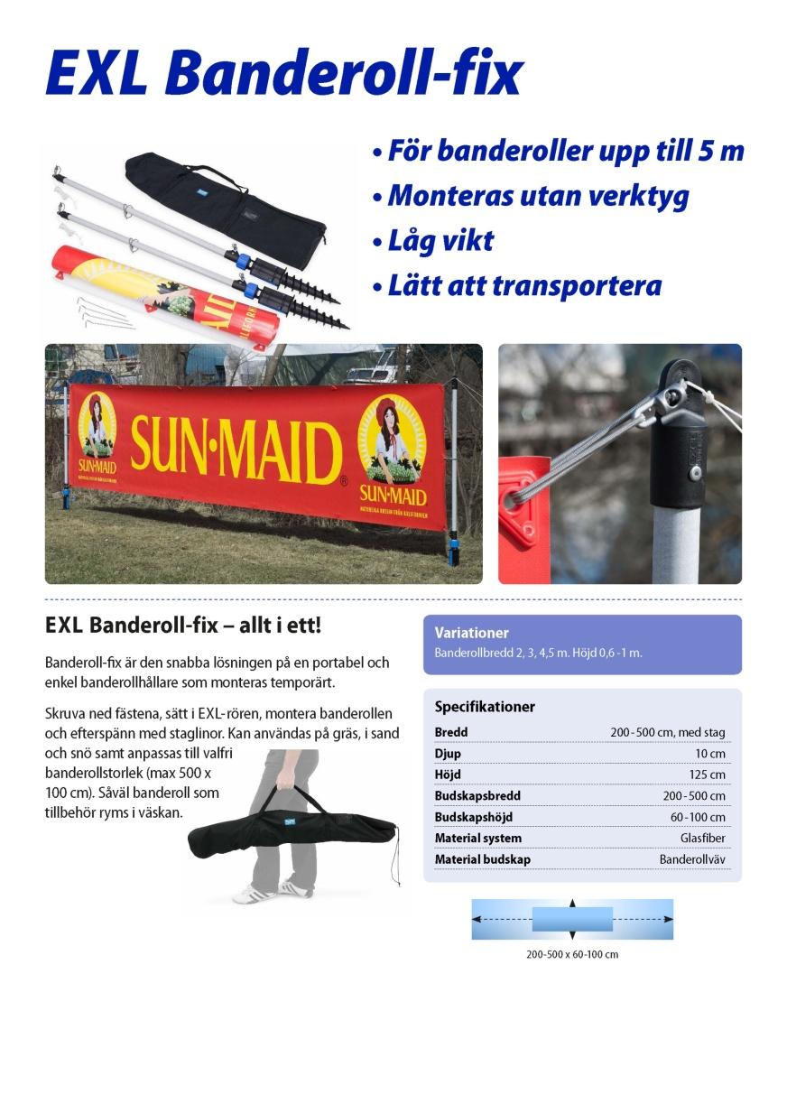 EXL Banderoll-fix