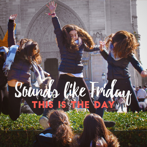 Sounds like Friday happy indie pop