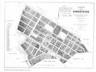 Karta över köpingen Sundbyberg från 1898. Bilden är klickbar. Sturegatan ligger nr 2 räknat från järnvägen, det svarta strecket på bilden.