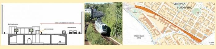 Bilder: I mitten mittsundbyberg omgärdad av bilder från kommunen.