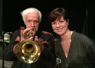 Jazzgästerna Carin Lundin och Jan Allan