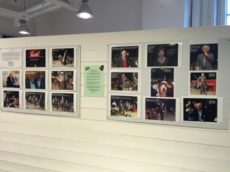 Curt Wahlunds bilder visar en parad av jazzgäster åren 2010 och 2011.