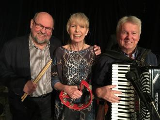 Fr v Mats Farell, Annica Risberg och Christer Eidebo.
