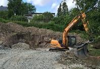 Grundgropen grävs