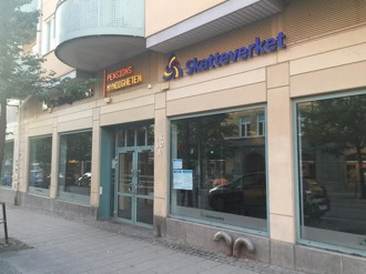 Försäkringskassan, Pensionsmyndigheten och Skatteverket samlade på Sturegatan.