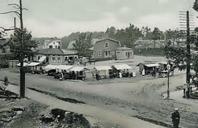 Torget 1902. Bild Stadsmuseet