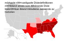 Dixie - karta