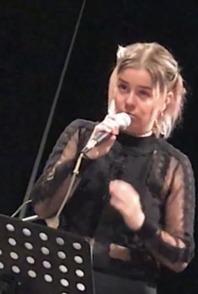 Anna Örnfjäder, sång