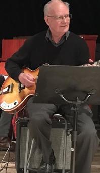 Nicke Wöhrmann, gitarr.