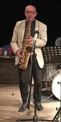 Per Norlén, konsertens bandledare. Kubbens vice ordförande.