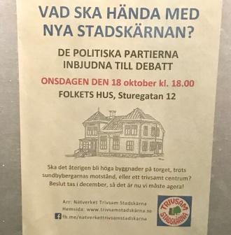 Trivsam Stadskärnas inbjudan.