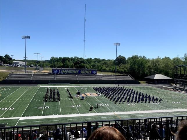 Platsen för  graduation.