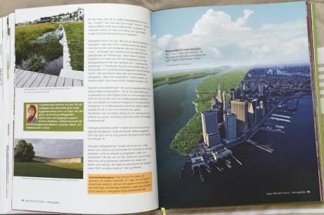 """Manhattan. """"Kajen mot Central Park"""" är lika populär och stadslivsskapande som """"kajen mot Huson River."""""""