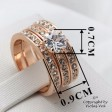 Ring Hexagon Rosegold