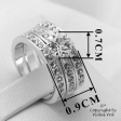 Ring Hexagon Silver