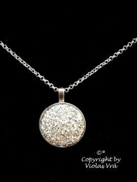 Halsband Glossy Silver