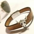 Läderarmband 8012