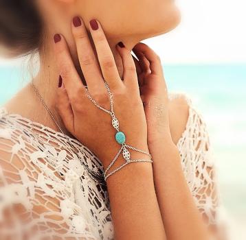 Fot/hand smycke
