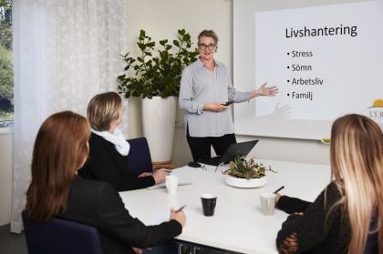 Utbildningar och kurser för arbetsterapeuter.