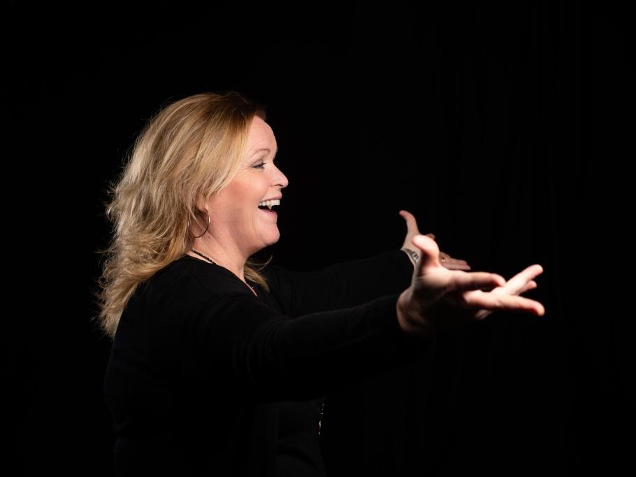 Sångcoach och sångpedagog Monica Christoffersson