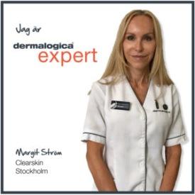 margit, clearskin, dermalogica, hudvård, salong, hudvårdssalong, stockholm, östermalm, rekommendera, ansiktsbehandling