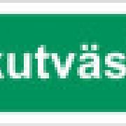 Skylt Akutväska