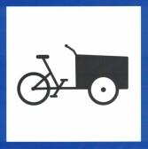 Parkering Lådcykel