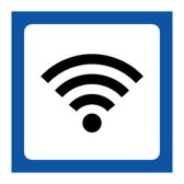 Skylt Wi-fi