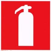 Efterlysande handbrandsläckareskylt