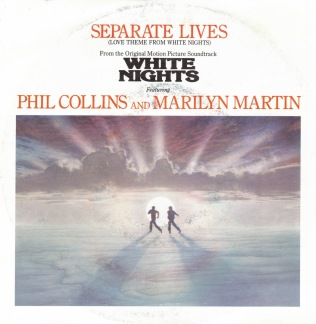 Phil Collins and Marilyn Martin -