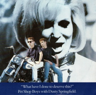 Pet shop boys with Dusty Springfield -