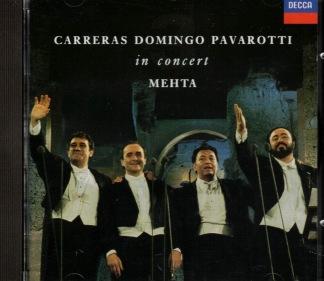 Carreras, Domingo, Pavarotti -