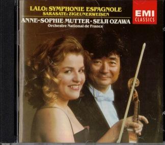 Lalo: Symphonie Espagnole & Sarase: Zigeunerweisen -