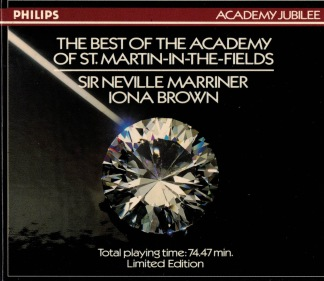 The best of the academy of st. martin in the fields -
